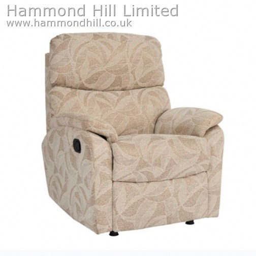 Celebrity Aston Recliner Fabric 1