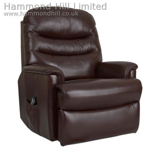 Celebrity Pembroke Recliner Leather 1