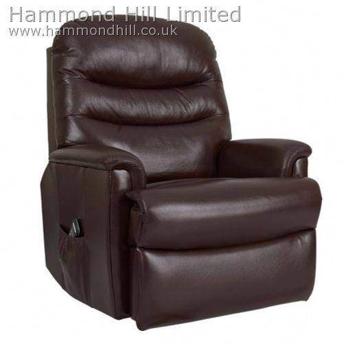 Celebrity Pembroke Recliner Leather 1