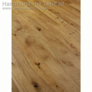 Oak Rustic Brushed & Oiled (HHA104) Flooring