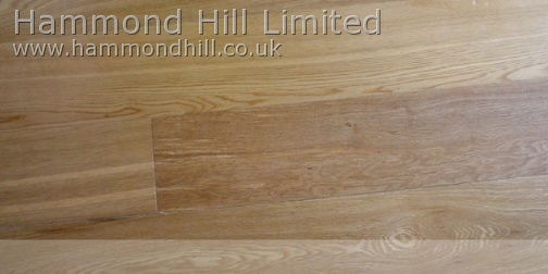 Oak Wide Rustic Matt Lacquered (HHA110) Flooring 1