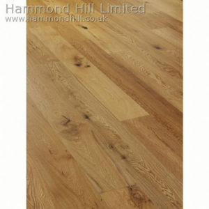 Oak Wide Rustic Matt Lacquered (HHA110) Flooring