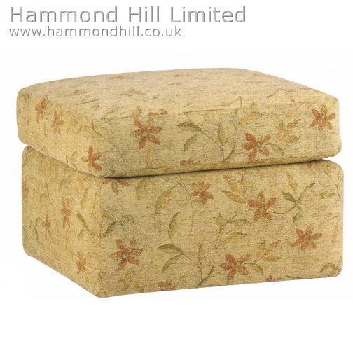 Celebrity Box Foot Stool Hammond Hill