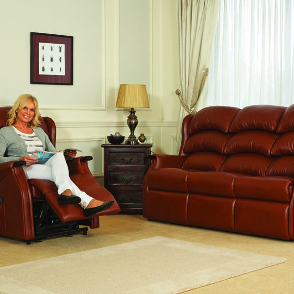 Celebrity Westbury Three Seater Sofa Leather 1