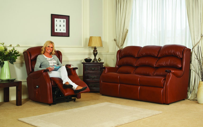 Celebrity Westbury Sofa Leather 1