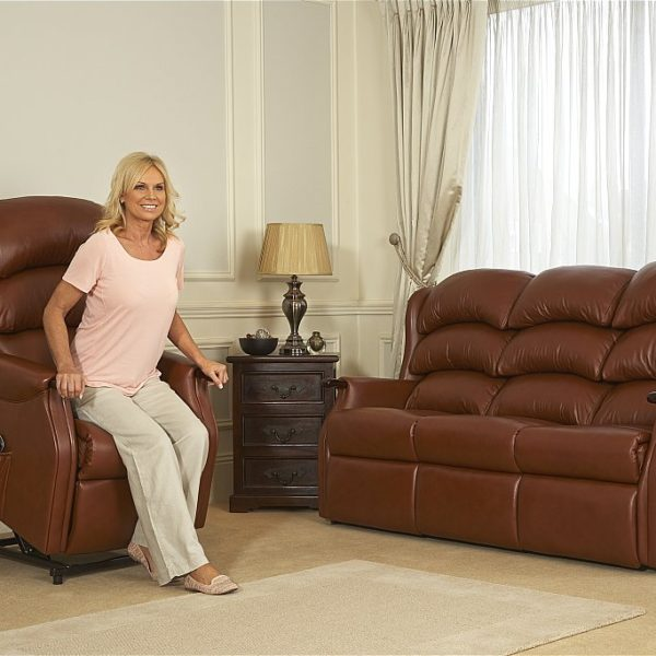 Celebrity Westbury Three Seater Sofa Leather 2